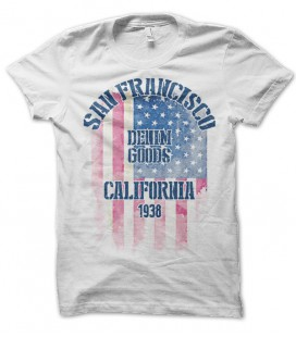 T-shirt San Francisco Denim 1938