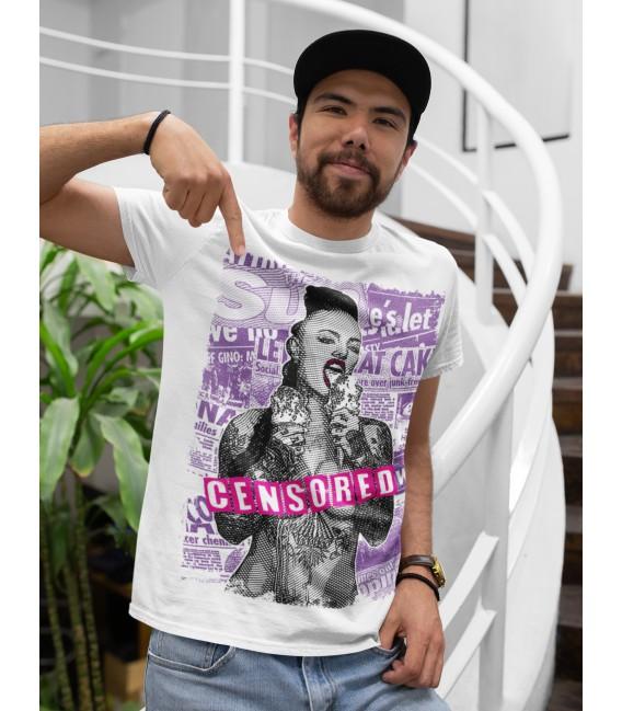 Tee shirt Homme Censored censuré original