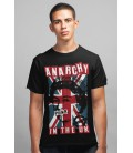 Tee Shirt noir, homme Anarchy in the UK, Punk Industry