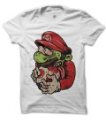 T-shirt original GeeK Mario Zombie