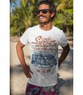 Tee Shirt Surf Vintage, Team Surfer 1980