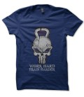 Tee Shirt KettleBell Punisher, Work Hard, Train Harder