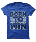 T-shirt Born To Win, Slide Racing