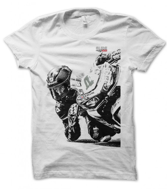 T-shirt Pose ton Coude Slide Racing