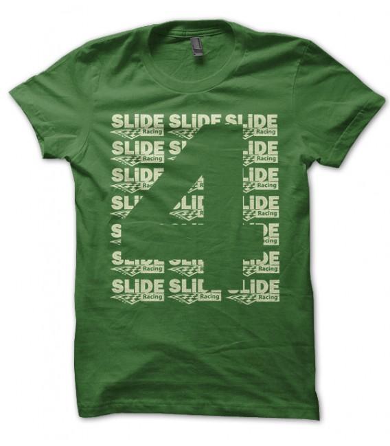 T-shirt Four, numéro 4 Slide Racing