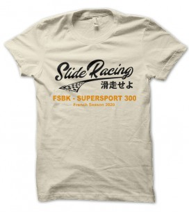 T-shirt Japan Style, Slide Racing