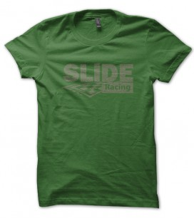 T-shirt Slide Racing Vintage
