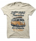 Tee Shirt Surfing 1980 Traveller, California Beach Party