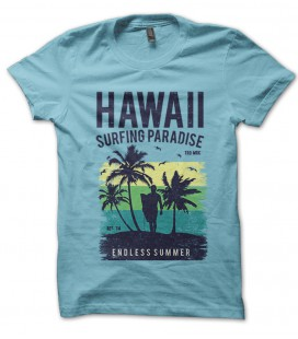Tee Shirt Original Hawaii Surfing Paradise