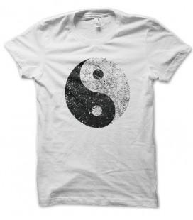 T-shirt Ying Yang Grunge