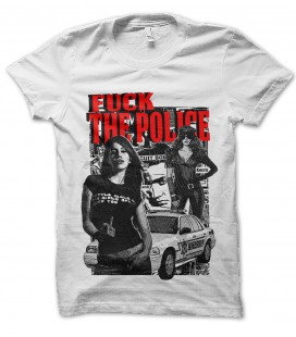 Tee Shirt Fuck the Police , Pop Art Collection