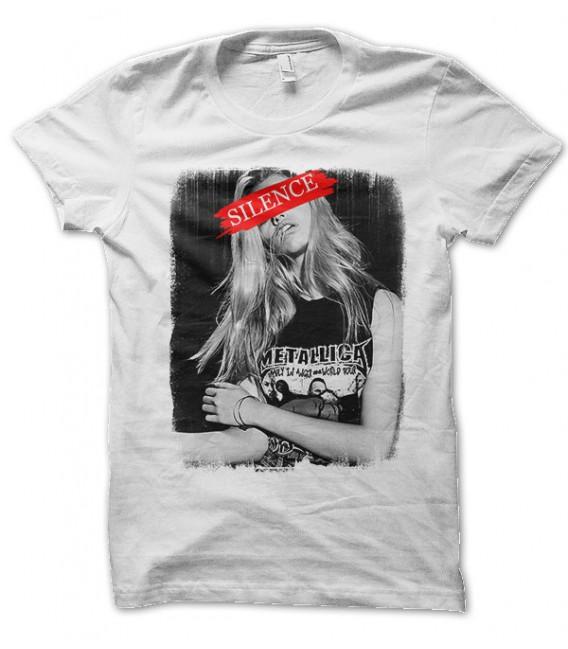 t-shirt Groupie Metallica Siclence