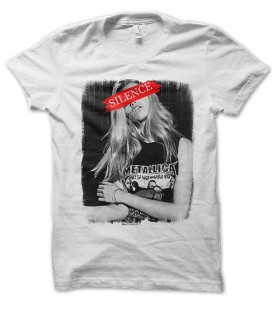 T-shirt Groupie Metallica Silence