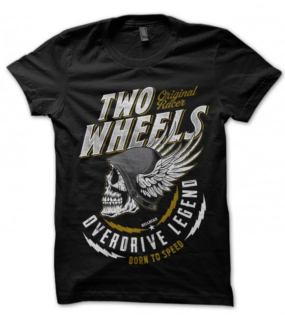 Tee Shirt Two Wheels Overdrive Legend
