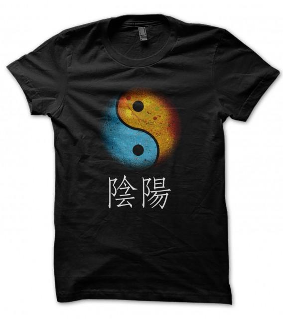 Tee Shirt Yin and Yang