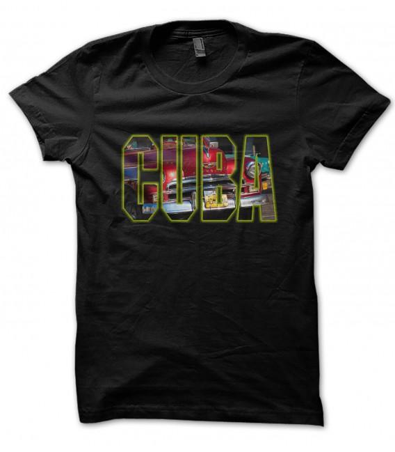 Tee Shirt Noir CUBA
