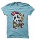 Tee Shirt vintage Skate and Peace, no WAR