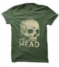 Tee Shirt Skull HellHead, Fuck