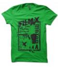 Tee Shirt Vintage Film X , péché originel