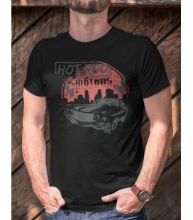 Tee Shirt Hot Rod Motors Muscle Car, Exclusive Club