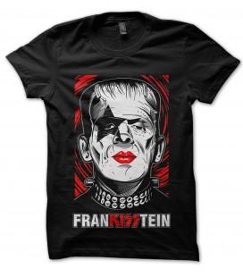 Tee Shirt Noir FranKISStein