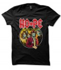 Tee Shirt Noir Highway To Health, Hope