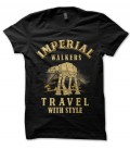 Tee Shirt Imperial Walker, Travel with Style..
