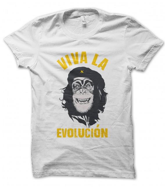 Tee Shirt Viva la Evolucion !