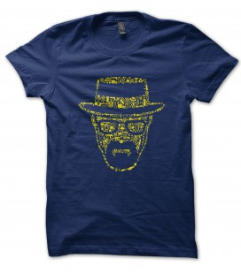 Tee Shirt Breaking Bad Tribute, Walter White Dings