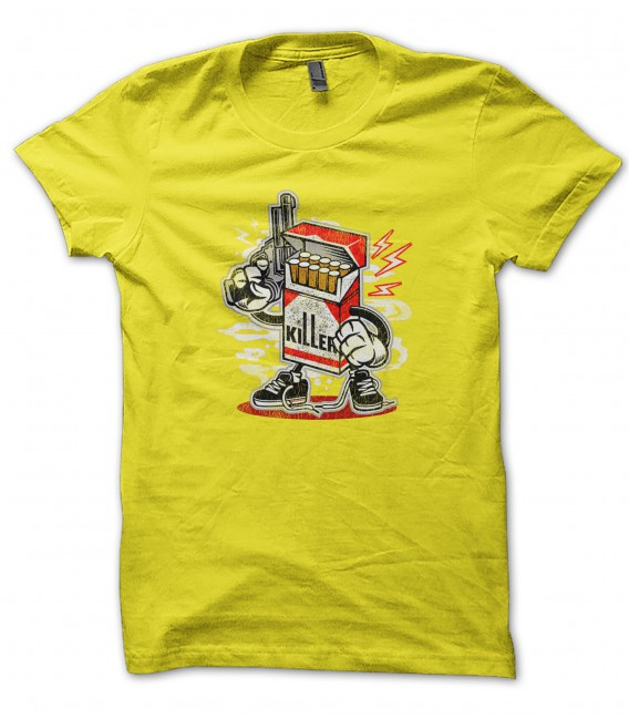 Tee Shirt Cigarettes Killer Vintage