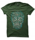Tee Shirt Electric Skull