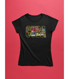 Tee Shirt Femme Cuba