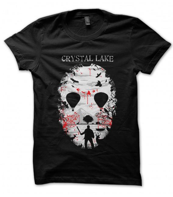 Tee Shirt Crystal Lake, Vendredi 13 Masque de Jason