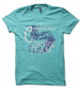 Tee Shirt California Surfing Team