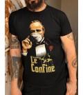 """Tee Shirt Bio Le Confiné ( Parodie le ¨Parrain"""" )"""