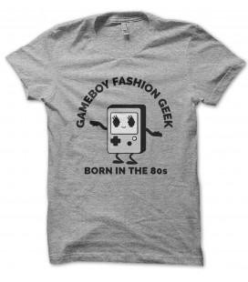 Tee Shirt Bio Gameboy Fashion GeeK, né dans les années 80
