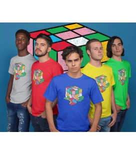 Tee Shirt Bio, Vintage Rubik Cube, Big Bang Theory