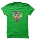 Tee Shirt Bio, Vintage Rubik Cube, Big Bang Theory