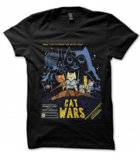 Tee Shirt 100% Bio, Cat Wars