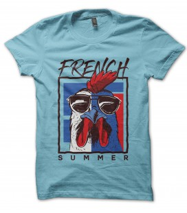 Tee Shirt 100% Bio, French Summer