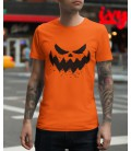 Tee Shirt 100% Bio, Halloween Scary Face