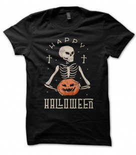 Tee Shirt 100% coton Bio, Happy Halloween