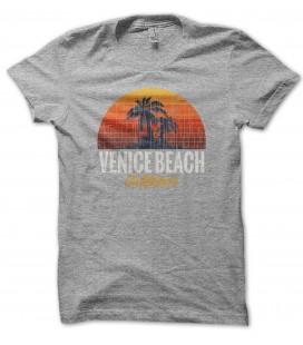Tee Shirt 100% coton Bio, Venice Beach style vintage