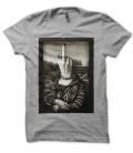 tee shirt parodie Mona Lisa Gris