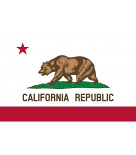 Drapeau California Republic 90x150cm