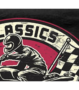 Tee Shirt Classics French Riders, 100% coton Bio