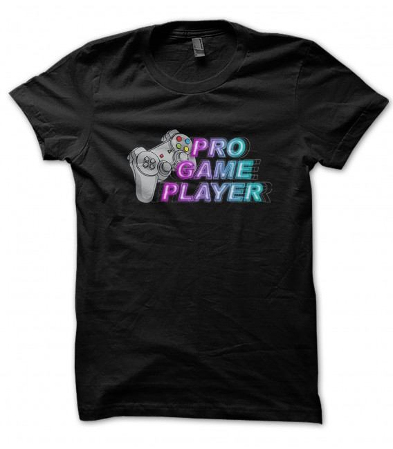Tee Shirt Pro Game Player, 100% coton Bio