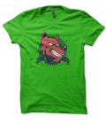 Tee Shirt Red Wolf, Red Riding Hood Eater, Original Vintage