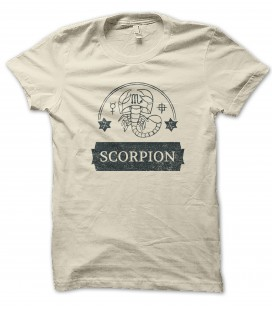 Tee Shirt Scorpion Astrologie, 100% coton Bio