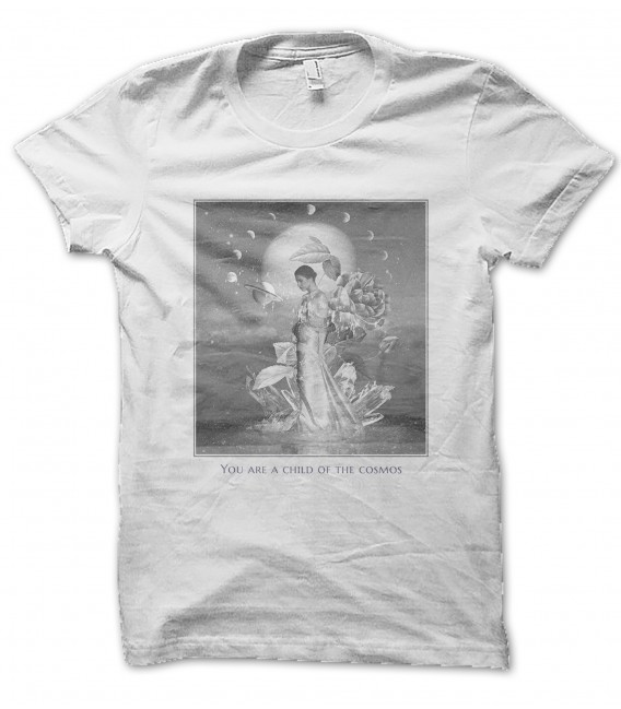Tee Shirt You are a child of the Cosmos, 100% coton Bio